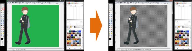 「GIMP」で作成する(ソフトウェア)